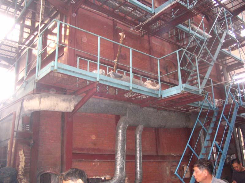 鍋爐爐體砌筑